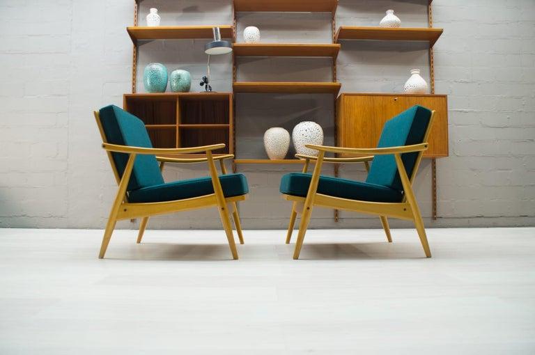Scandinavian Living Room Set, 1960s For Sale 11