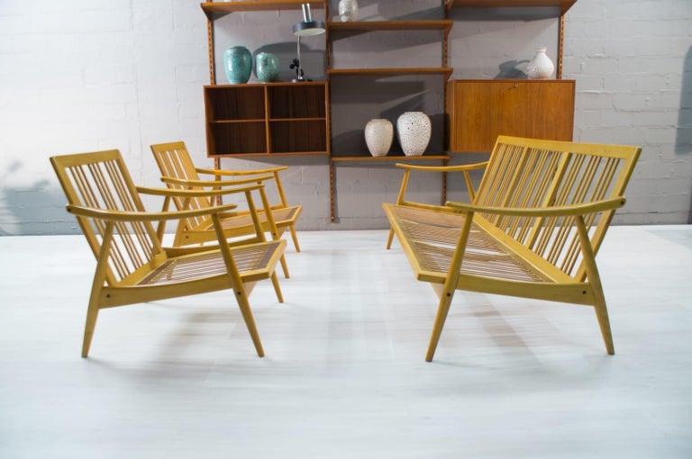 Scandinavian Living Room Set, 1960s For Sale 12