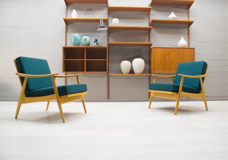 Mid-Century Modern Scandinavian Living Room Set, 1960s For Sale