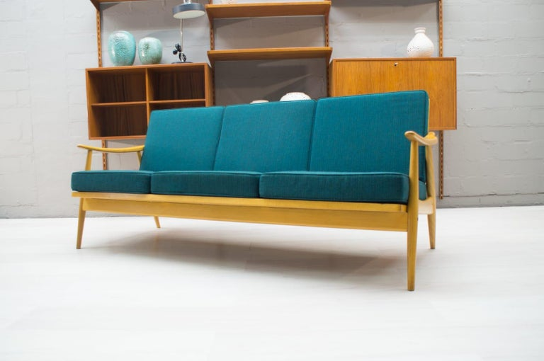 Scandinavian Living Room Set, 1960s In Good Condition For Sale In Nürnberg, Bayern