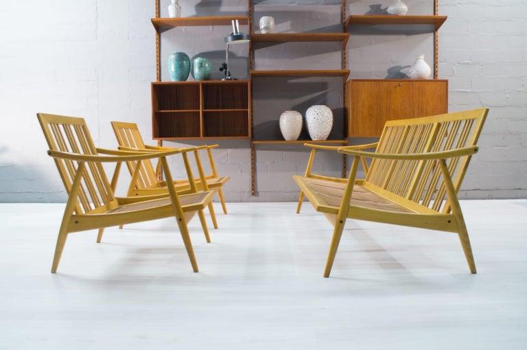 Mid-20th Century Scandinavian Living Room Set, 1960s For Sale