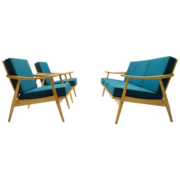 Scandinavian Living Room Set, 1960s For Sale