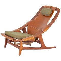 """Scandinavian Lounge Chair """"Holmenkollen"""" by Arne Tidemand Ruud"""
