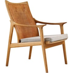 Scandinavian Lounge Chair Model 4093 by Hans Brattrud, Norway