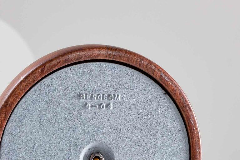 Scandinavian Midcentury Floor Lamp in Brass and Rosewood by Bergboms, Sweden 6