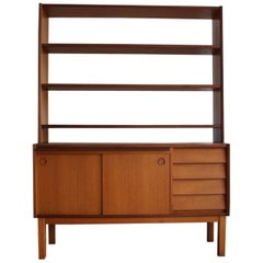 Scandinavian Mid-Century Modern Teak Shelf Unit