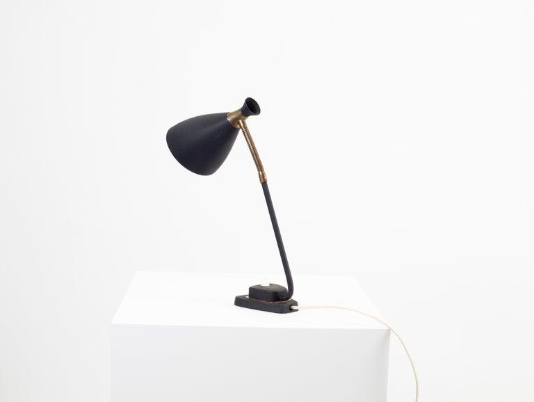 Mid-Century Modern Scandinavian Midcentury Table Lamp, 1950s For Sale