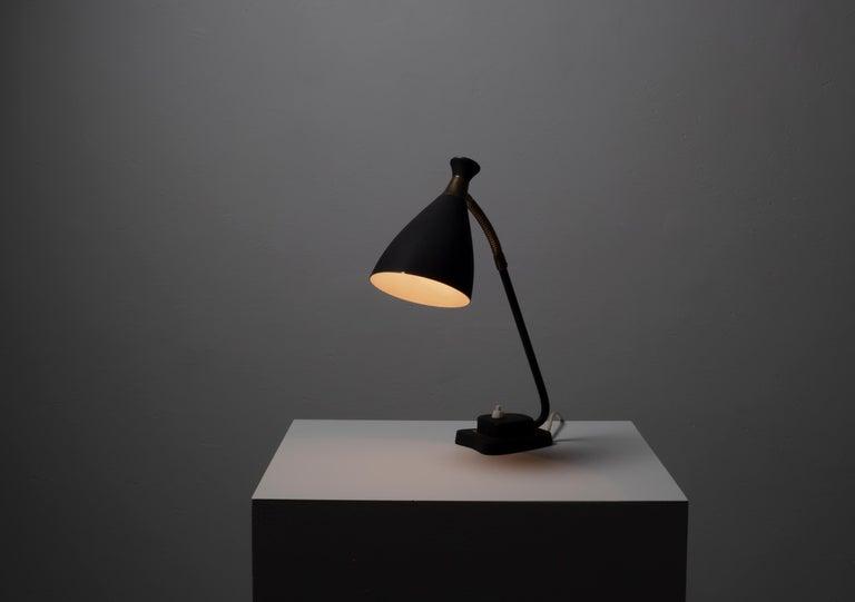 Scandinavian Midcentury Table Lamp, 1950s For Sale 2