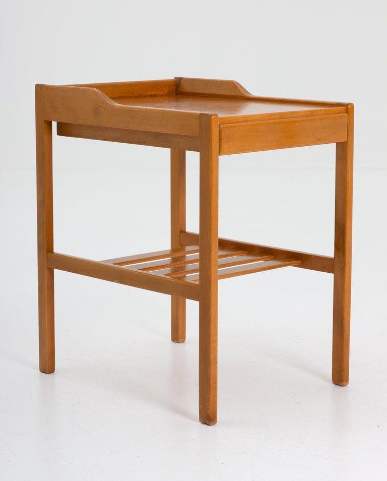 Scandinavian Modern Scandinavian Midcentury Bedside Tables by Bertil Fridhagen for Bodafors, 1960s