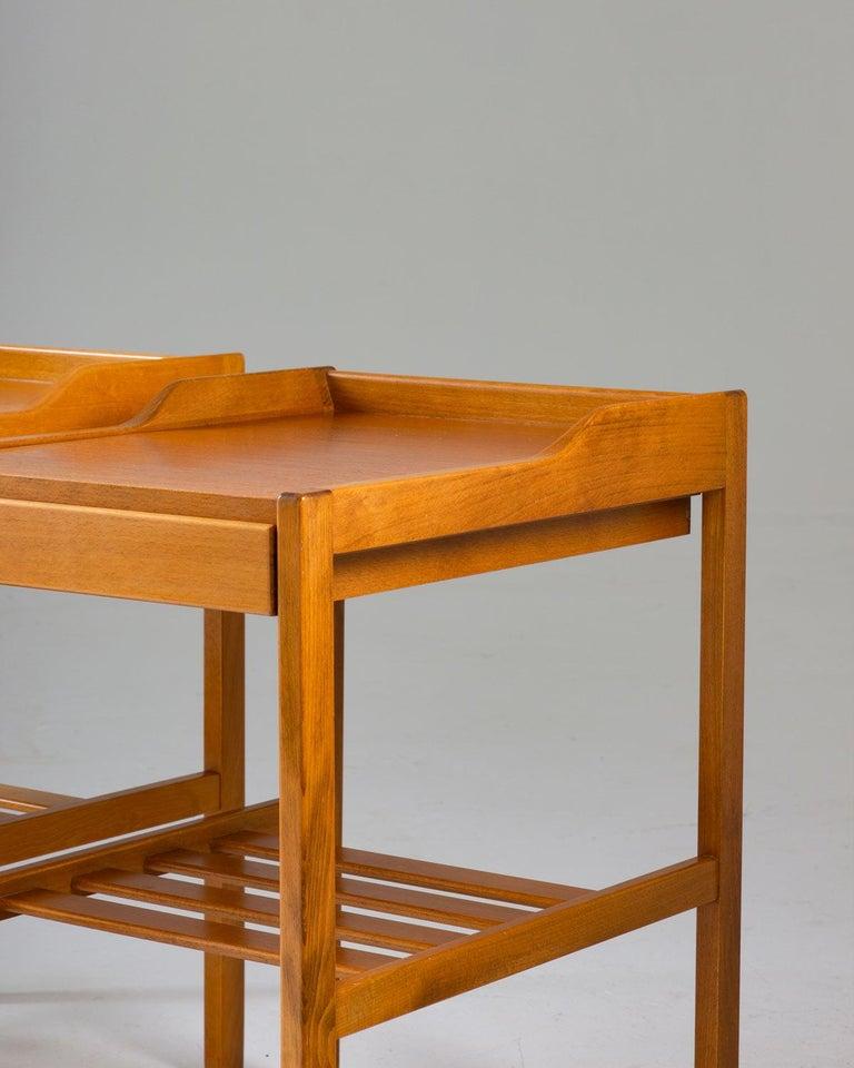Scandinavian Modern Scandinavian Midcentury Bedside Tables by Bertil Fridhagen for Bodafors, 1960s For Sale