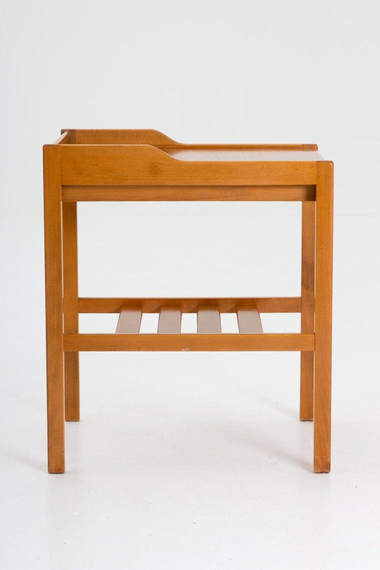 Swedish Scandinavian Midcentury Bedside Tables by Bertil Fridhagen for Bodafors, 1960s