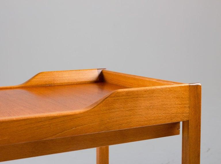 Swedish Scandinavian Midcentury Bedside Tables by Bertil Fridhagen for Bodafors, 1960s For Sale
