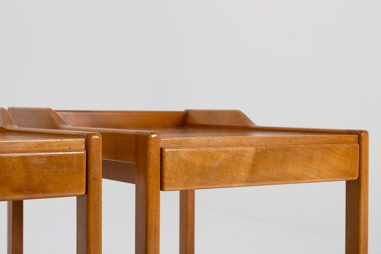 20th Century Scandinavian Midcentury Bedside Tables by Bertil Fridhagen for Bodafors, 1960s