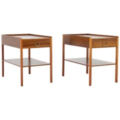 Scandinavian Midcentury Bedside Tables by Josef Frank for Svenskt Tenn