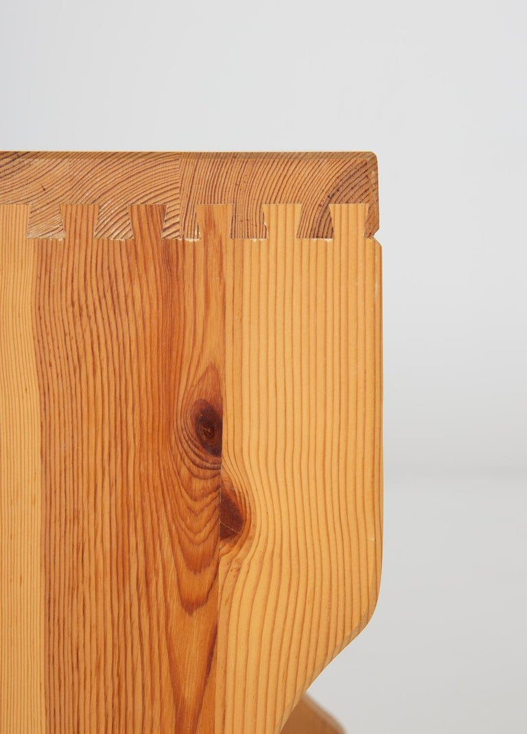 20th Century Scandinavian Midcentury Bedside Tables in Pine For Sale