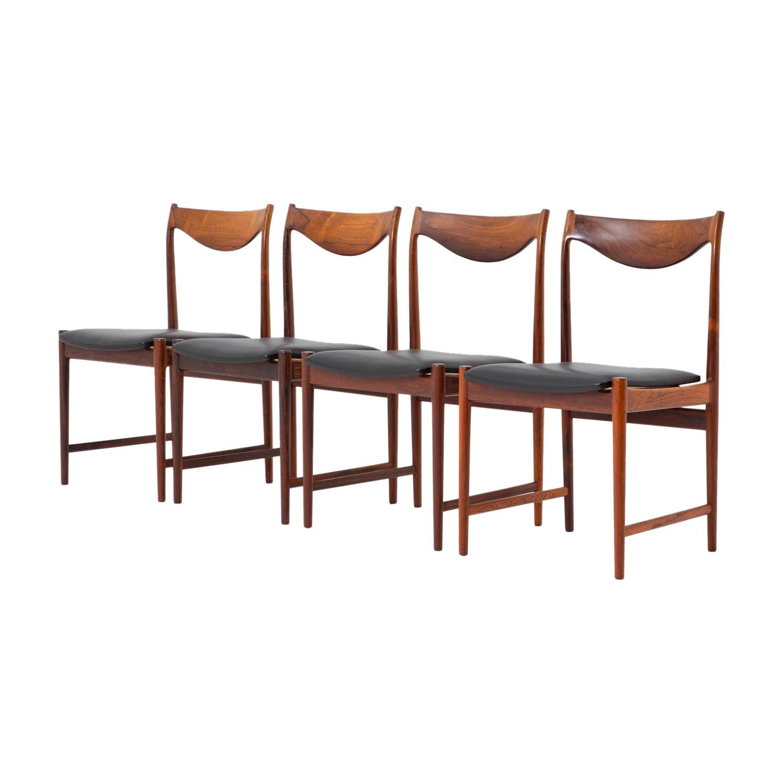 "Scandinavian Midcentury Dining Chairs Model ""Darby"" by Torbjørn Afdal"