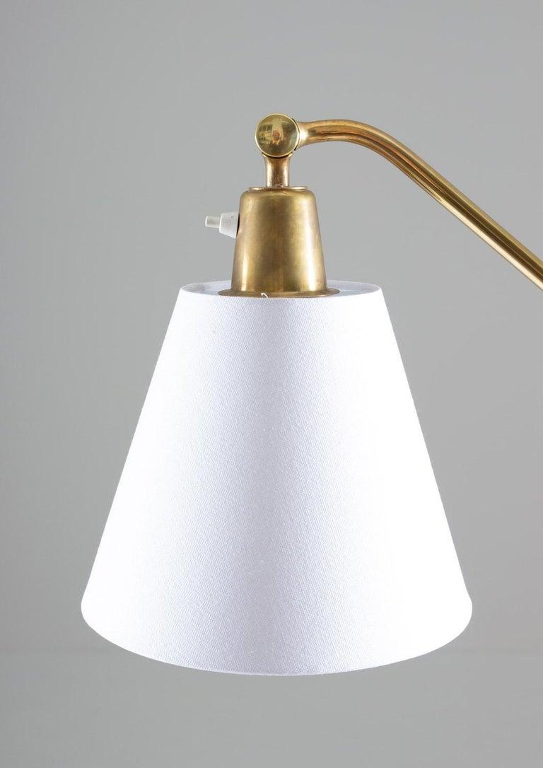 Teak Scandinavian Midcentury Floor Lamp by Bertil Brisborg for NK For Sale
