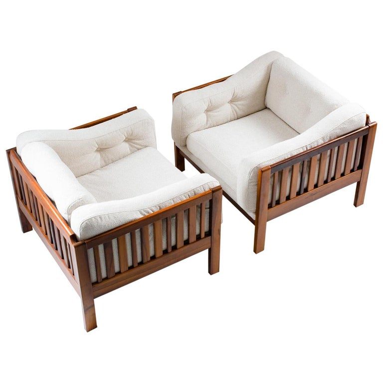 "Scandinavian Midcentury Rosewood Lounge Chairs ""Monte Carlo"", 1965 For Sale"