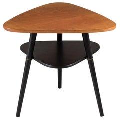"""Scandinavian Midcentury Side Table """"Telma"""" in Teak by Nils Jonsson"""