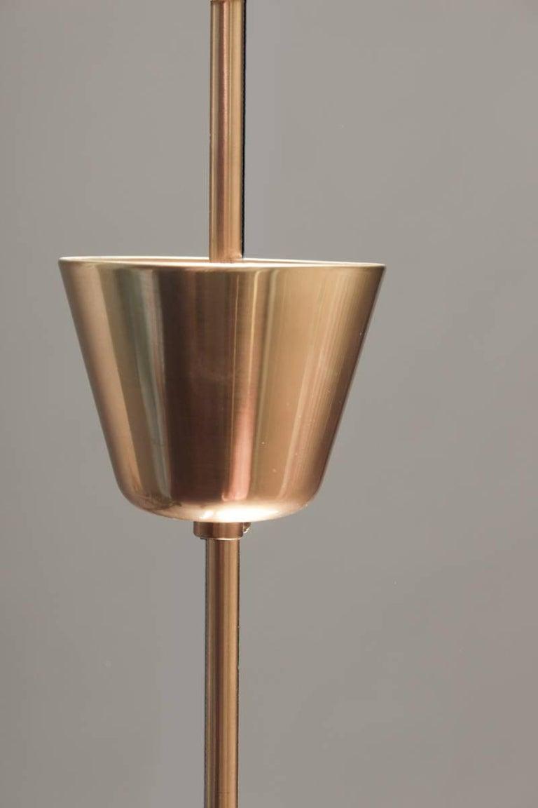 Scandinavian Midcentury Starburst Chandeliers in Brass by Böhlmarks, Sweden For Sale 5