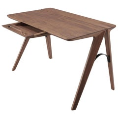 Scandinavian Minimalist Style Wood Desk