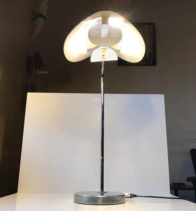 Scandinavian Minimalist Table Lamp by Bergboms, Sweden, 1980s For Sale 6
