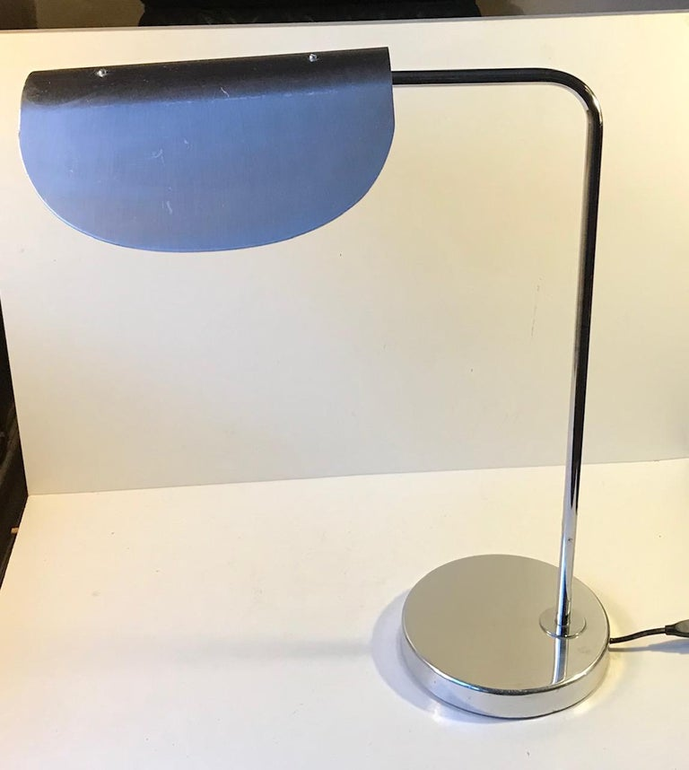 Scandinavian Minimalist Table Lamp by Bergboms, Sweden, 1980s In Good Condition For Sale In Esbjerg, DK
