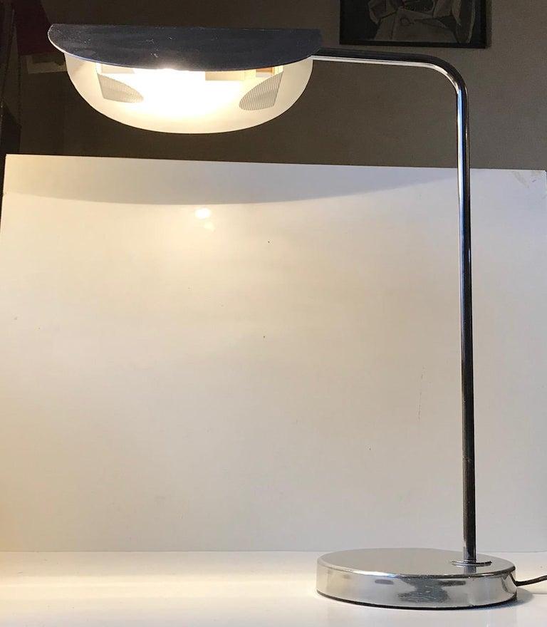 Scandinavian Minimalist Table Lamp by Bergboms, Sweden, 1980s For Sale 3