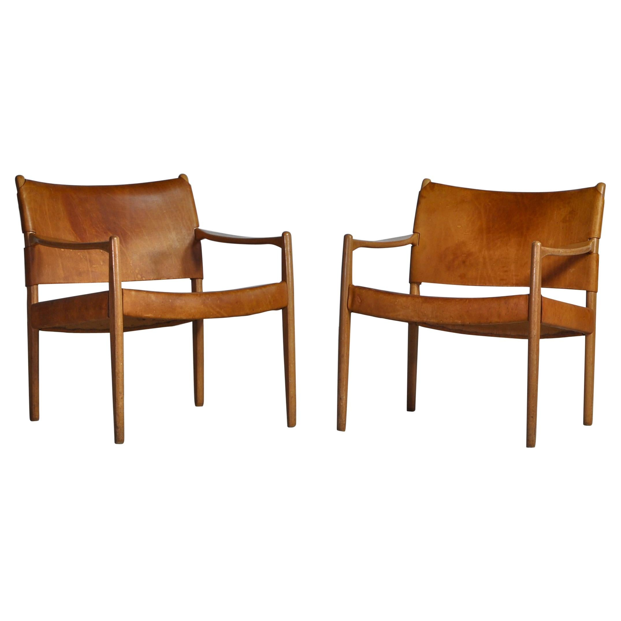 "Scandinavian Modern Armchairs ""Premiär-69"" by Per-Olof Scotte for IKEA"