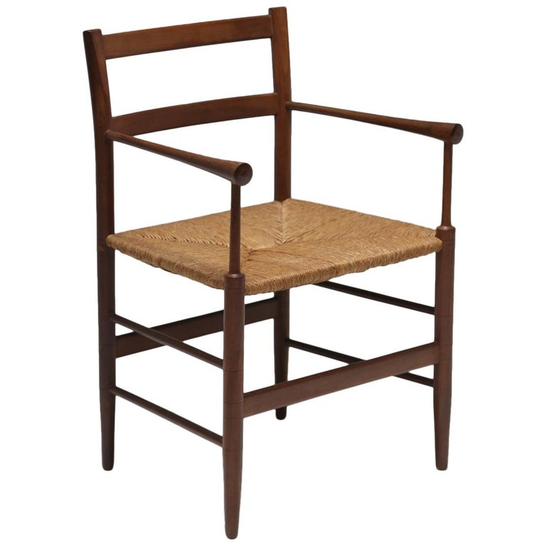 Scandinavian Modern Arts And Crafts Sus Style Teak Armchair For