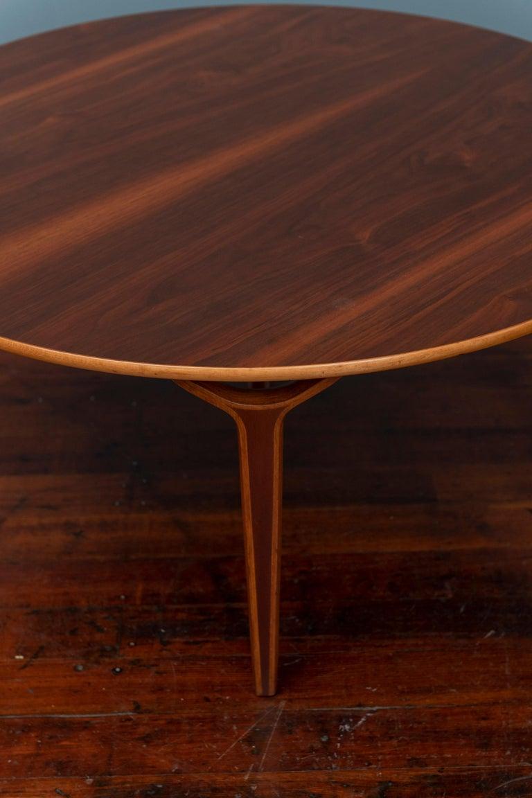 Mid-20th Century Scandinavian Modern Ax Coffee Table by Peter Hvidt & Orla Moregaard