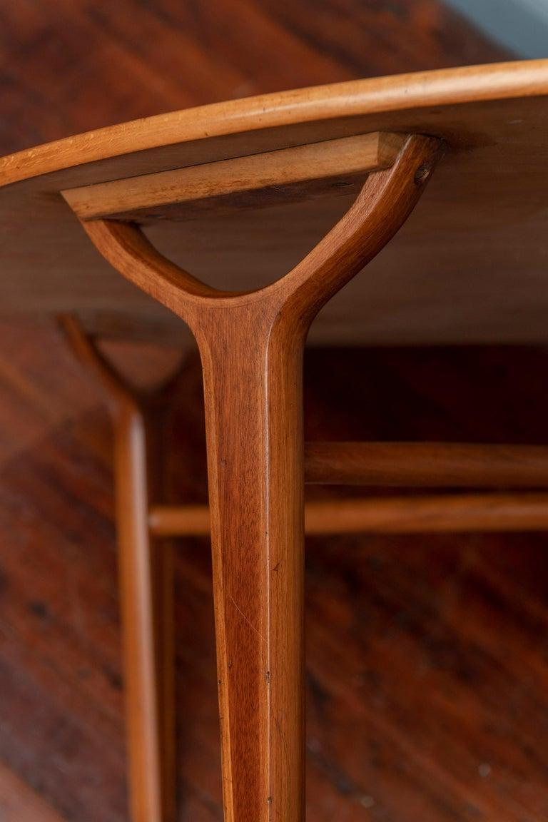 Scandinavian Modern Ax Coffee Table by Peter Hvidt & Orla Moregaard 1
