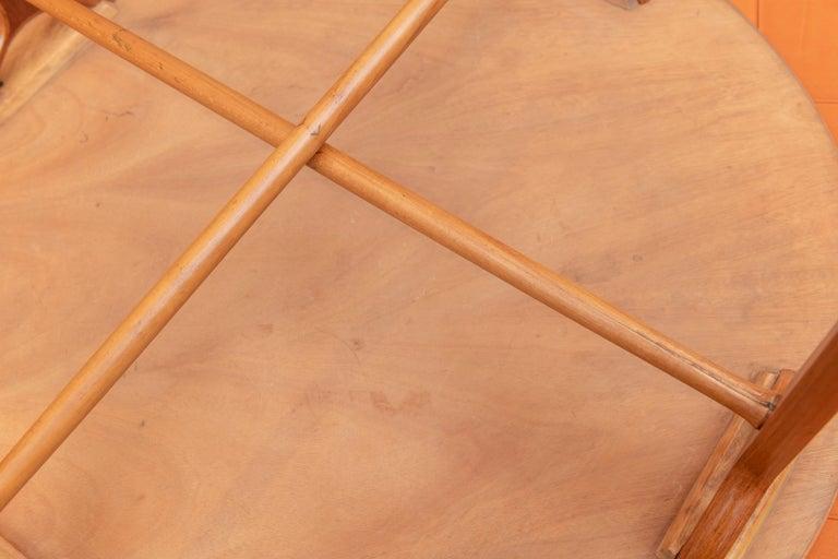 Scandinavian Modern Ax Coffee Table by Peter Hvidt & Orla Moregaard 3