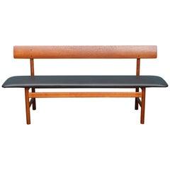 Scandinavian Modern Bench by Borge Mogensen