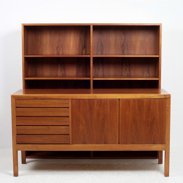 Scandinavian Modern Bookcase by Alf Svensson for Bodafors, 1963 For Sale 6