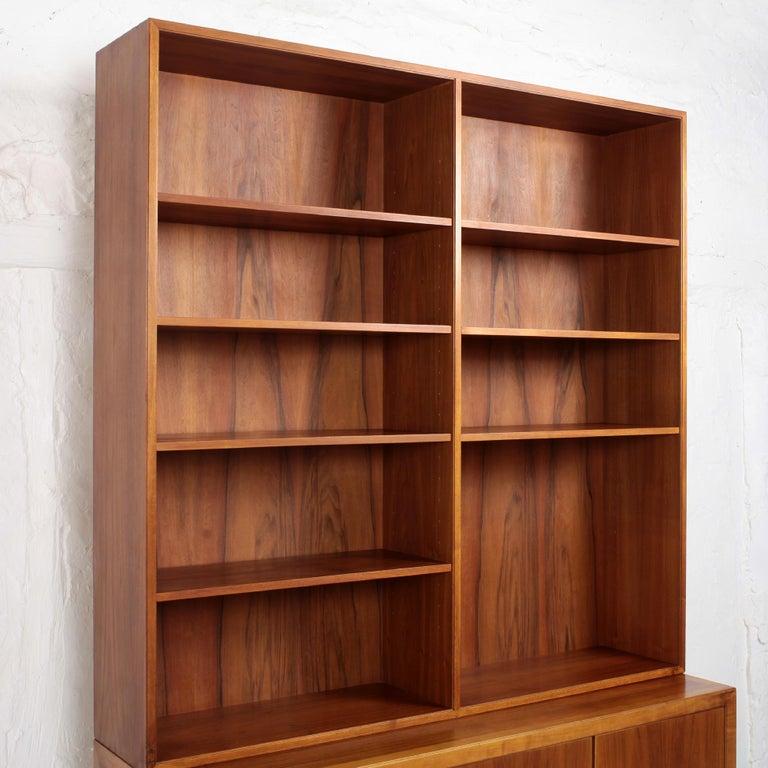 Swedish Scandinavian Modern Bookcase by Alf Svensson for Bodafors, 1963 For Sale