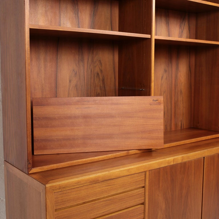 Scandinavian Modern Bookcase by Alf Svensson for Bodafors, 1963 In Good Condition For Sale In Saint  Ouen, FR