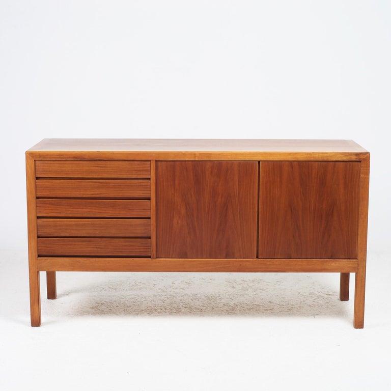 Mid-20th Century Scandinavian Modern Bookcase by Alf Svensson for Bodafors, 1963 For Sale