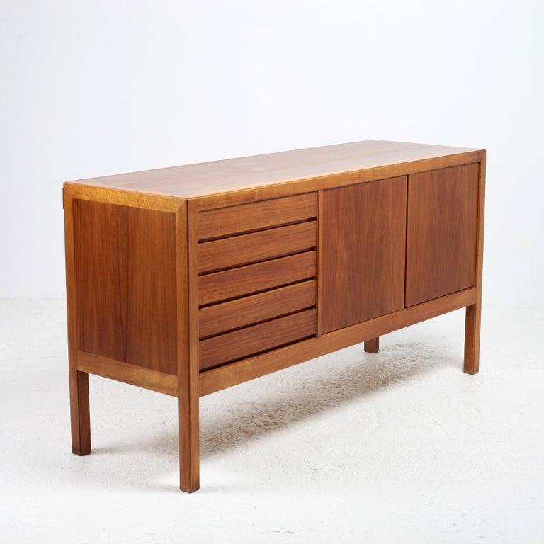 Palisander Scandinavian Modern Bookcase by Alf Svensson for Bodafors, 1963 For Sale