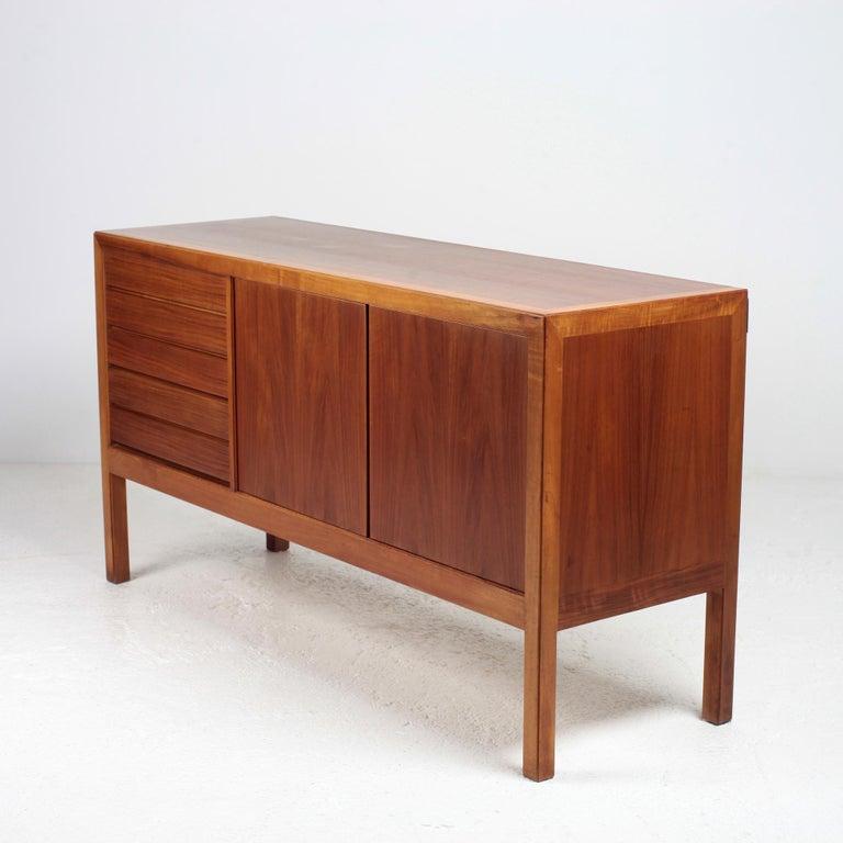 Scandinavian Modern Bookcase by Alf Svensson for Bodafors, 1963 For Sale 1