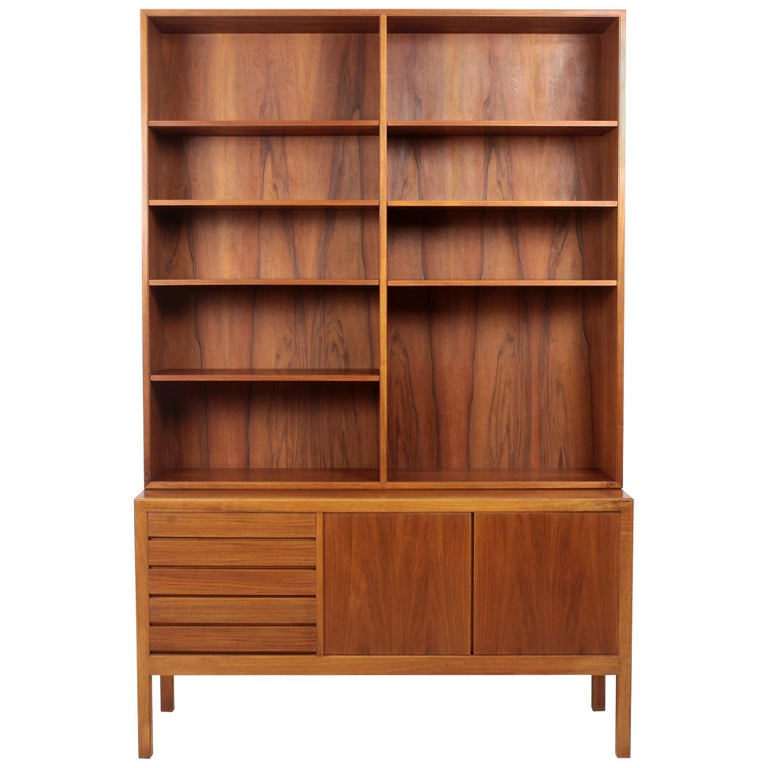 Scandinavian Modern Bookcase by Alf Svensson for Bodafors, 1963 For Sale