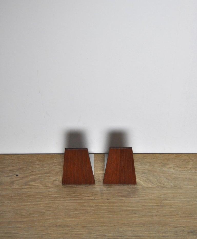 20th Century Scandinavian Modern Bookends, 1960s For Sale