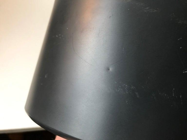 Aluminum Scandinavian Modern Brass Club Pendant Lamp, 1960s For Sale