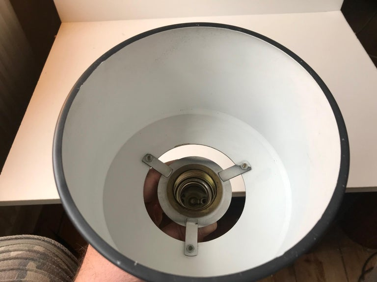 Scandinavian Modern Brass Club Pendant Lamp, 1960s For Sale 1