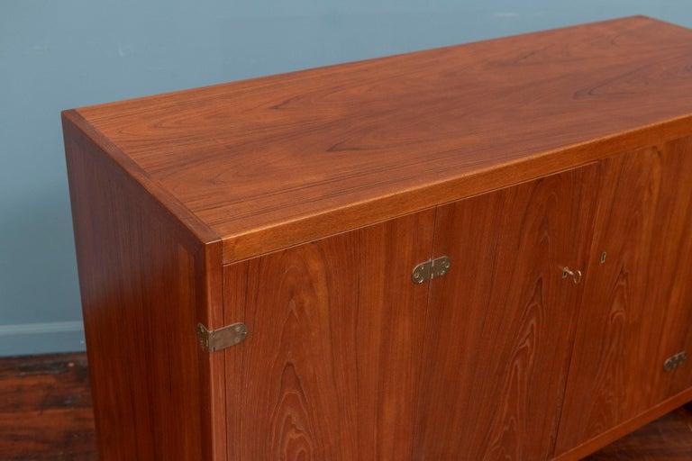 Danish Scandinavian Modern Cabinet by Borge Mogensen For Sale