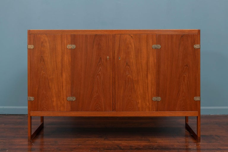 Scandinavian Modern Cabinet by Borge Mogensen In Good Condition For Sale In San Francisco, CA