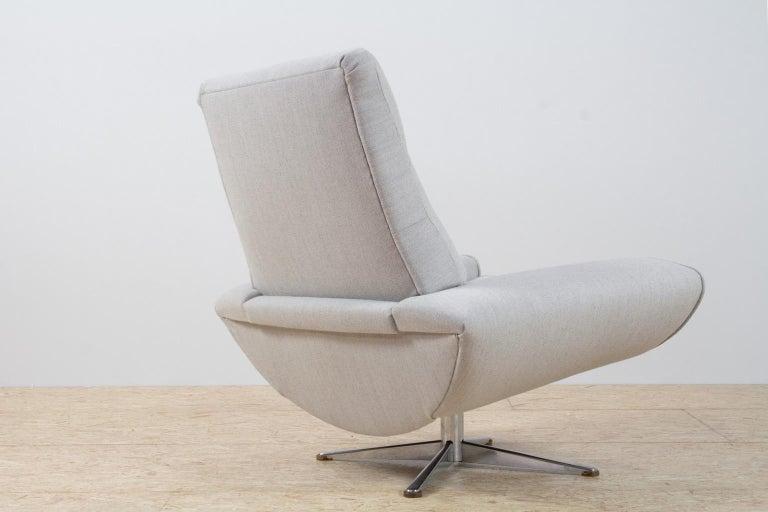 beautiful swivel club chairs | Scandinavian Modern Capri High Back Chair by Johannes ...