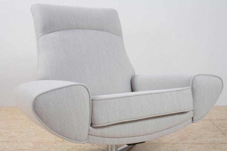 Scandinavian Modern Capri High Back Chair By Johannes