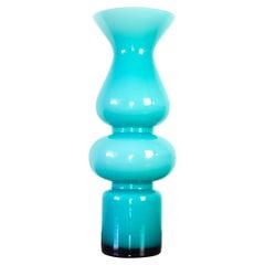 Scandinavian Modern Carnaby Vase by Per Lütken for Holmegaard Denmark 60s