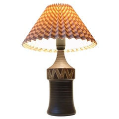 Scandinavian Modern Ceramic Table Lamp, 1970s